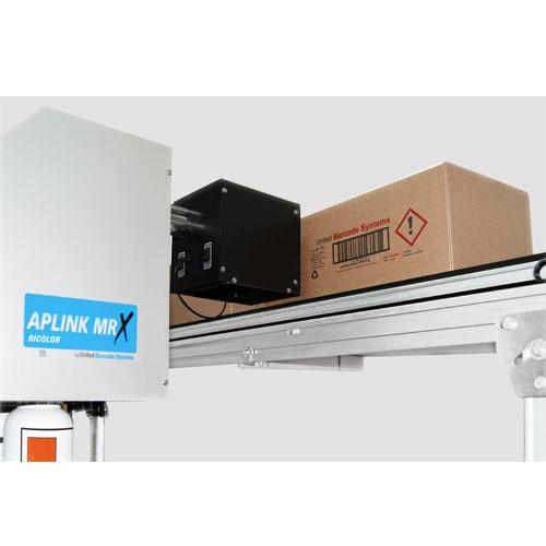 bicolor aplicacion 1 - Каплеструйный принтер высокого разрешения APLINK MRX BICOLOR