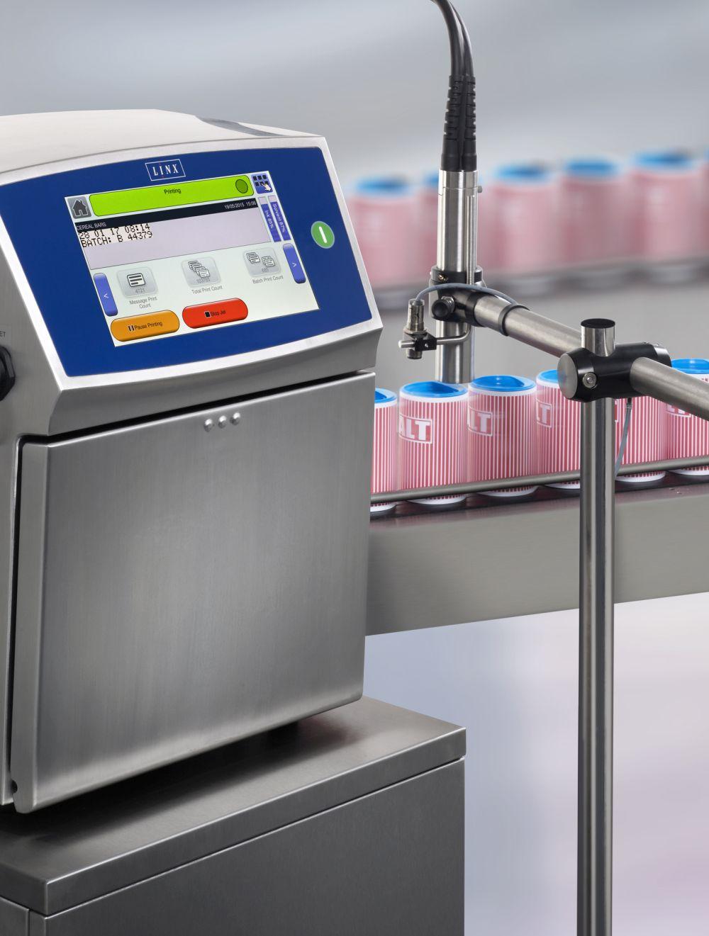 LX3049 - Новые возможности принтеров LINX серии 8900