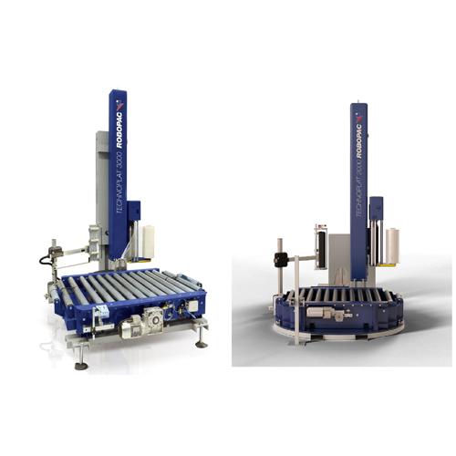 Technoplat 2000 и 3000 - Автоматические паллетоупаковщики TECHNOPLAT 2000/3000