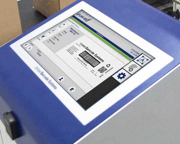 aplink mrx touch screen printer industrial 600x479 - Каплеструйный принтер высокого разрешения APLINK MRX