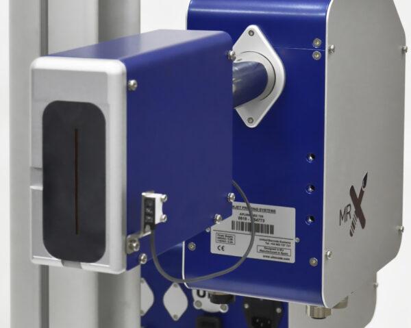 printhead printer industrial coder industrial printer marking equipment package secondary box 600x479 - Каплеструйный принтер высокого разрешения APLINK MRX