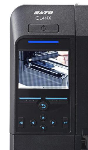 cl4nx full colour lcd 3 94 300x511 - Термотрансферные принтеры SATO (термопринтеры для печати этикеток)