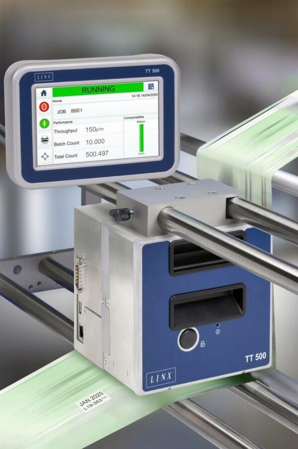 500 1 600x902 - Термопринтер для печати этикеток  LINX TT500