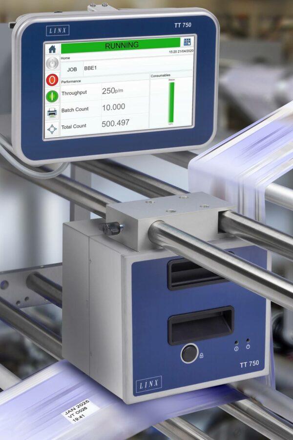 750 1 600x902 - Термопринтер для печати этикеток LINX TT750