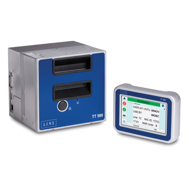 T500 1 600x600 - Термопринтер для печати этикеток  LINX TT500